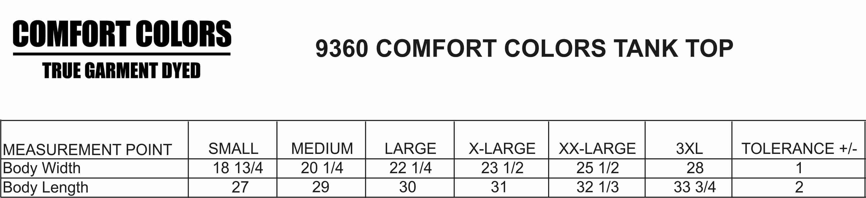 Comfort colors tank 9360 moonlight threads comfort colors tank 9360 nvjuhfo Gallery