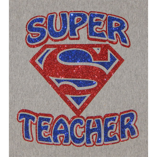 Super Teacher Vinyl Shirt | Moonlight Threads