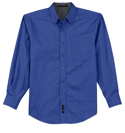 2018 Plano ISD Embroidered Button Down Shirt