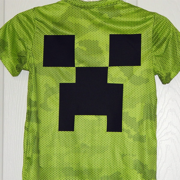 2016 lovejoy leopards minecraft creeper on camo hex dry fit shirt