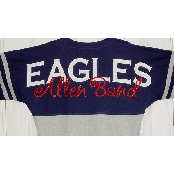 2016 Allen Eagles Band Spirit Jersey Moonlight Threads